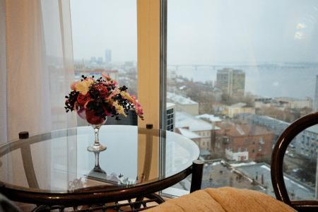 Элитная квартира,исторический центр города,на 17 этаже с видом на Волгу, ПАРКИНГ, WI-FI