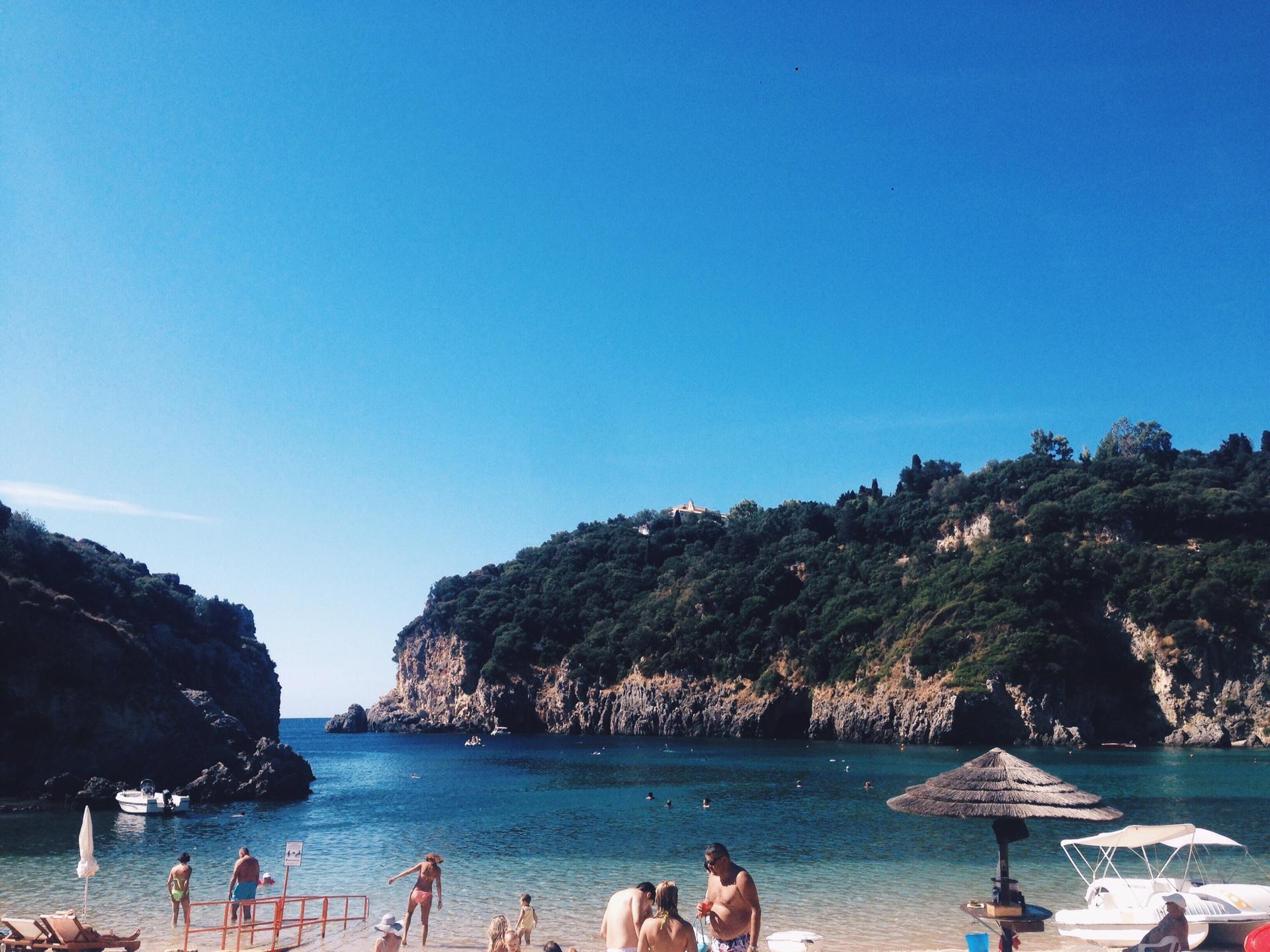 горы море греция спитир у