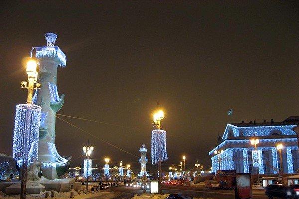 Казань украшенная к новому году 2015 фото